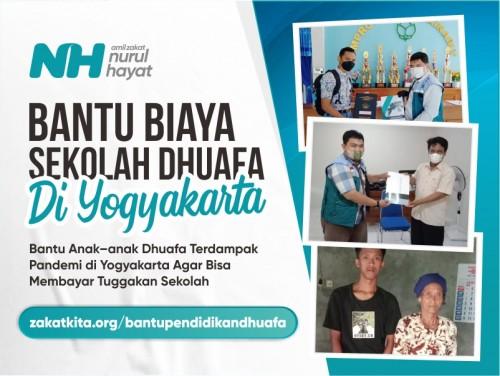 Biaya Sekolah untuk Anak-anak Dhuafa di Yogyakarta